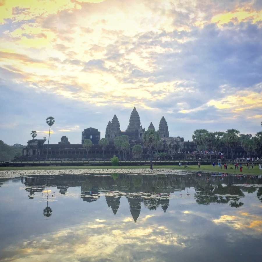 An Ancient Sunrise at Angkor Wat