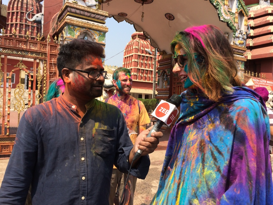 Celebrating a Happy Holi in Odisha