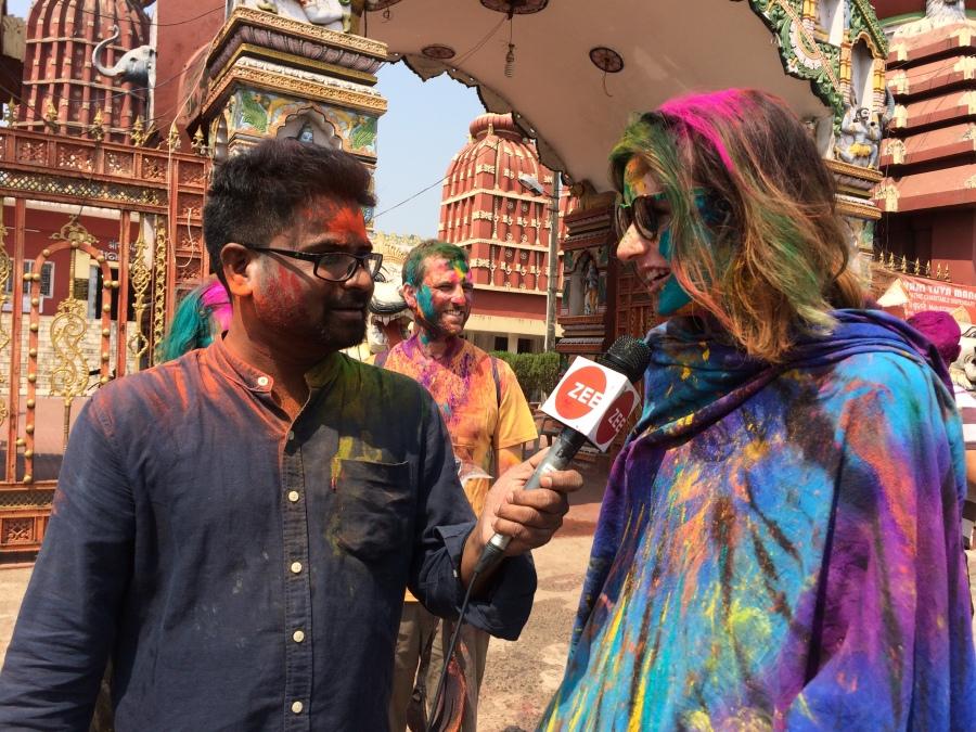 Celebrating a Happy Holi inOdisha