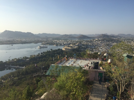 The View across Udaipur