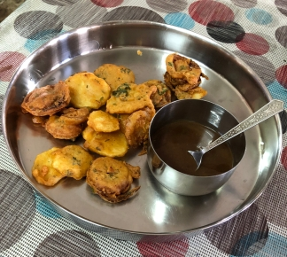 Onion and Potato Pakora