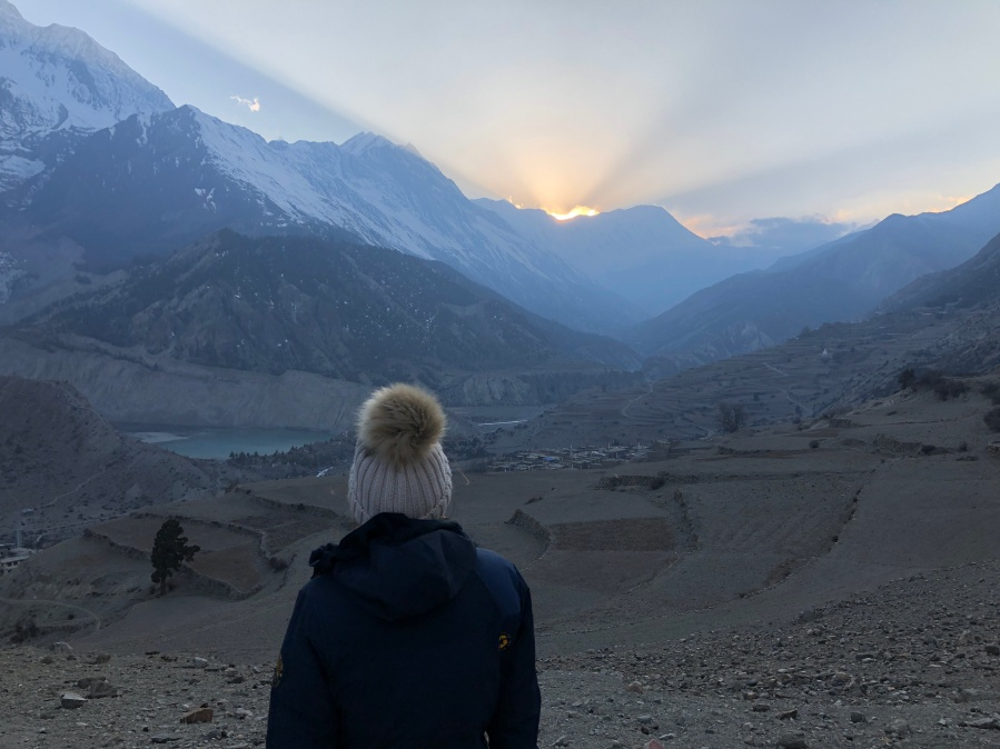 Trekking the Annapurnas: Overcoming altitude sickness in Manang